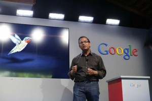 google hummingbird announcement