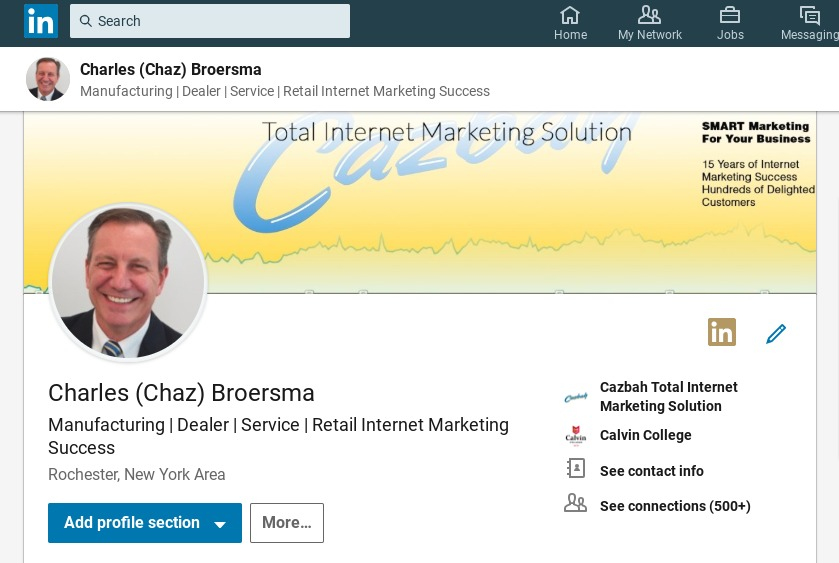 how to create a professional linkedin profile