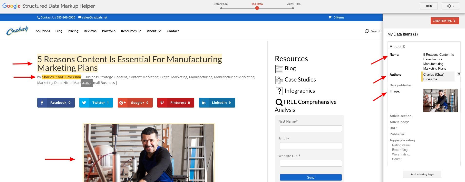 Google Schema Markup Tool Tutprial