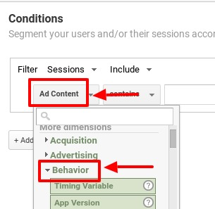 how to segment out spam traffic in google analytics_step5