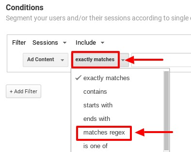 how to segment out spam traffic in google analytics_step6