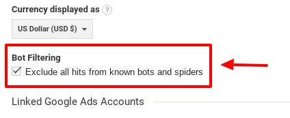 how to filter out spam bot traffic in google analytics_step3