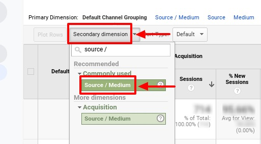 how to segment out spam traffic in google analytics_step2