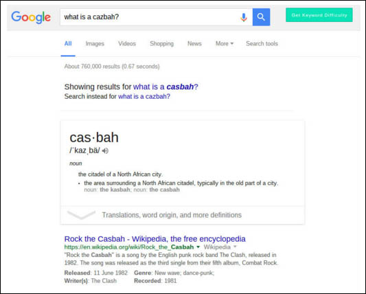 Google Answer Boxes: What's your answer? - Cazbah