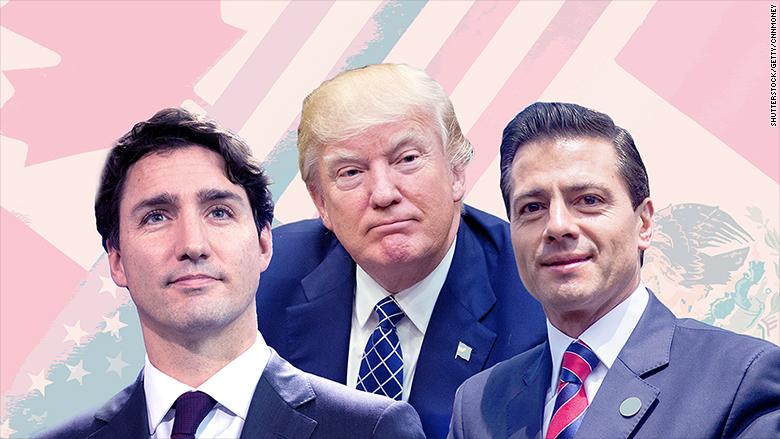 NAFTA leaders