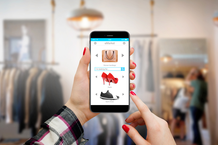 customer website shopping