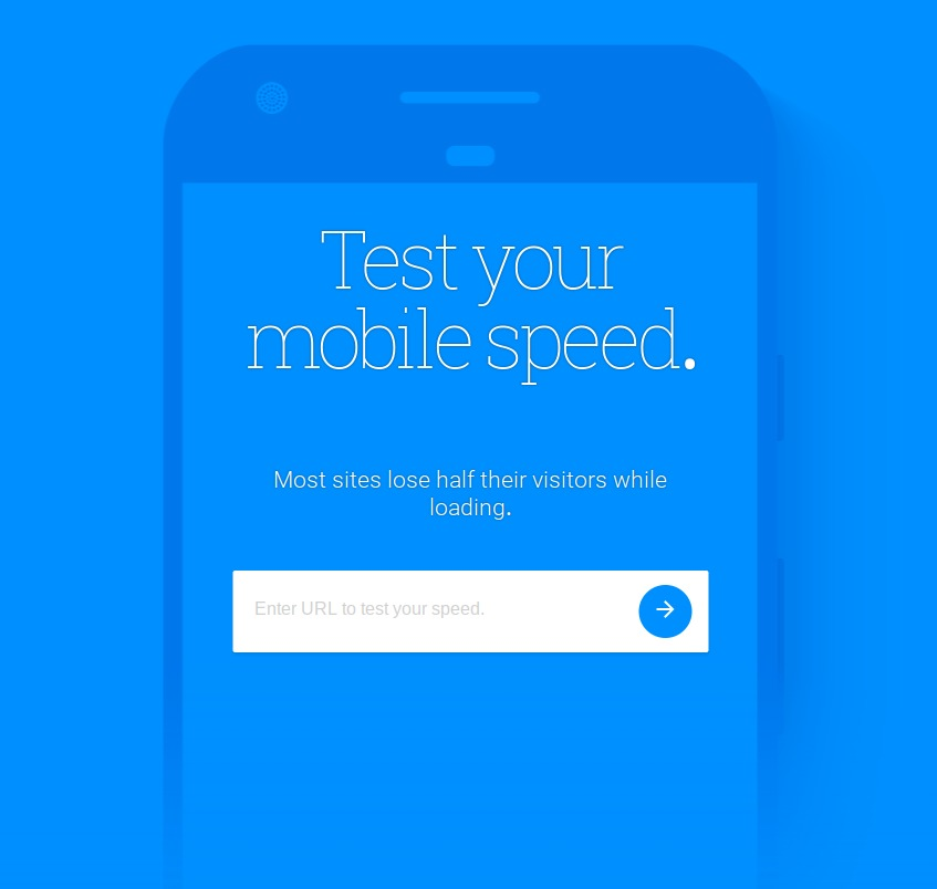 google tool to test mobile speed
