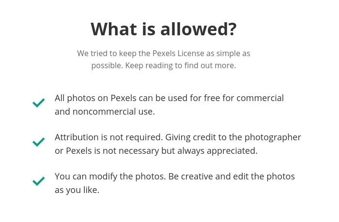 pexels free online images