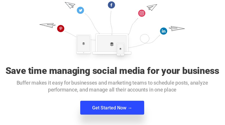 buffer social media posting scheduling